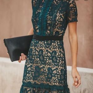 Best Time Of The Year Dark Teal Knit Dress